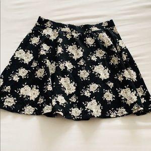 Forever21 Floral Circle Skirt